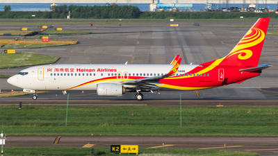 A picture of B5686 - Boeing 73784P - Hainan Airlines - © Levine