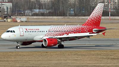 A picture of VPBQK - Airbus A319111 - Rossiya - © Luba Ostrovskaya