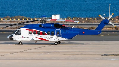 A picture of N288NT - Sikorsky S92A - [920288] - © Pedro Castellano García