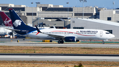 A picture of N368AR - Boeing 73786J - Aeromexico - © Rocky Wang