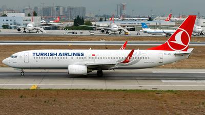 TC-JFY - Boeing 737-8F2 - Turkish Airlines