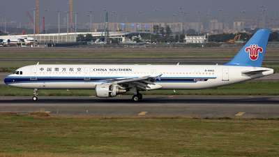 B-6662 - Airbus A321-211 - China Southern Airlines