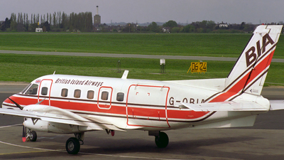 G-OBIA - Embraer EMB-110P1 Bandeirante - British Island Airways