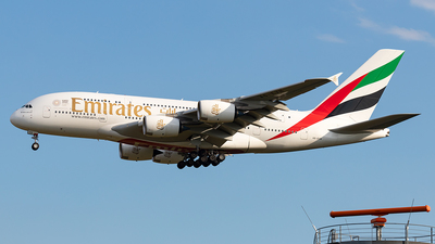 A picture of A6EVN - Airbus A380842 - Emirates - © Markus Altmann
