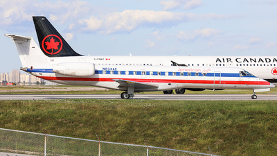 A picture of N834AE - Embraer ERJ140LR - American Airlines - © CurtisShao233