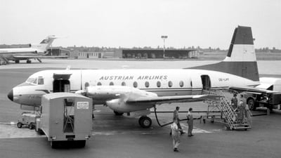 OE-LHT - Hawker Siddeley HS-748 Series 2A - Austrian Airlines