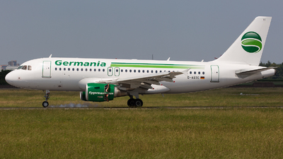 D-ASTC - Airbus A319-112 - Germania