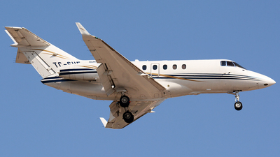 TC-SHE - Raytheon Hawker 850XP - Sertur Air