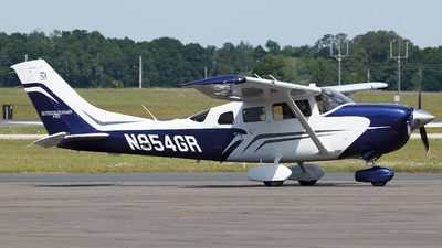 N954GR - Cessna T206H Turbo Stationair - Private