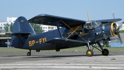 SP-FYL - PZL-Mielec An-2TP - Private