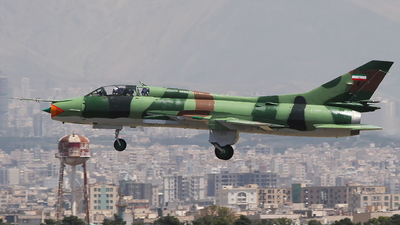 15-2463 - Sukhoi Su-22UM3K Fitter G - Iran - Revolutionary Guard
