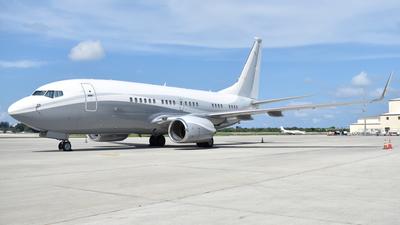 N834BZ - Boeing 737-73Q(BBJ) - Private