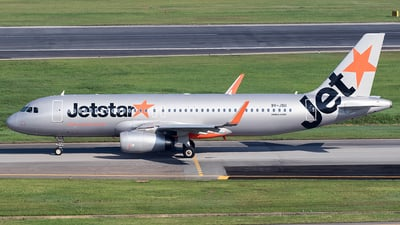 9V-JSU - Airbus A320-232 - Jetstar Asia Airways