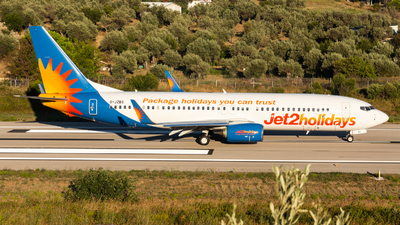 A picture of GJZBS - Boeing 7378MG - Jet2 - © Fryderyk Kastelnik/ Fred Aviation