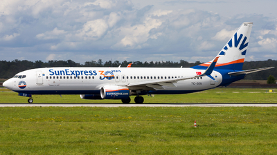 A picture of TCSEU - Boeing 7378HC - SunExpress - © Chr Pe