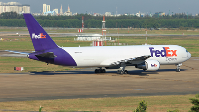 A picture of N103FE - Boeing 7673S2F(ER) - FedEx - © Hao Phan