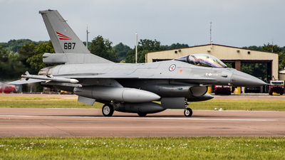 687 - General Dynamics F-16AM Fighting Falcon - Norway - Air Force