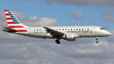 A picture of N407YX - Embraer E175LR - American Airlines - © Andriy Yegorov
