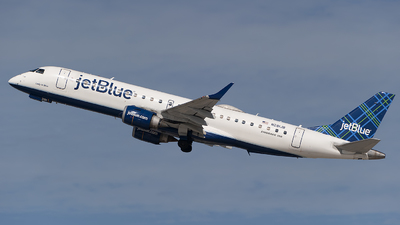 A picture of N281JB - Embraer E190AR - JetBlue Airways - © Mark Lawrence