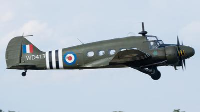 G-VROE - Avro Anson T.21 - Private