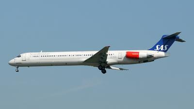 LN-ROX - McDonnell Douglas MD-82 - Scandinavian Airlines (SAS)