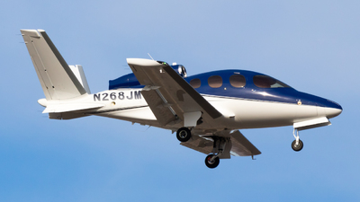 N268JM - Cirrus Vision SF50 - Private