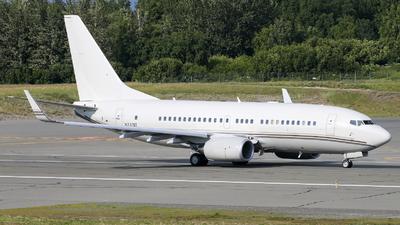N737AT - Boeing 737-7HJC(BBJ) - Hillwood Airways
