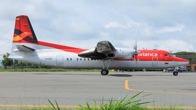 HK-4501 - Fokker 50 - Avianca