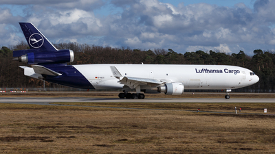 A picture of DALCC - McDonnell Douglas MD11F - Lufthansa Cargo - © TJDarmstadt