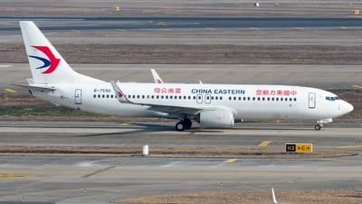 A picture of B7590 - Boeing 73789P - China Eastern Airlines - © JetblastAviation