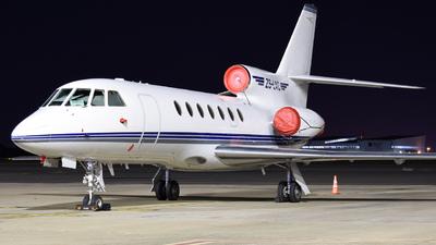 ZS-LAC - Dassault Falcon 50 - Private