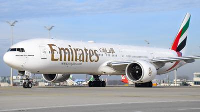A6-EBJ - Boeing 777-36NER - Emirates