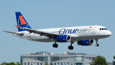 TC-OBL - Airbus A320-232 - Onur Air
