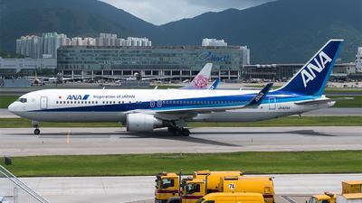 JA625A - Boeing 767-381(ER) - All Nippon Airways (ANA)