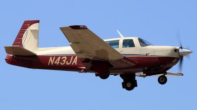 N43JA - Mooney M20J - Private
