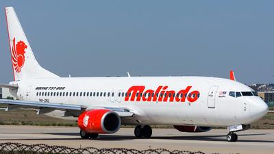 9M-LNU - Boeing 737-8GP - Malindo Air