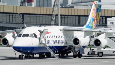 G-BZAU - British Aerospace Avro RJ100 - British Airways (CitiExpress)