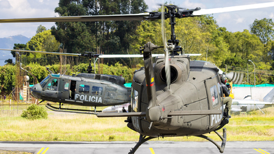 PNC-0707 - Bell UH-1H Huey II - Colombia - Police