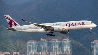 A picture of A7ALI - Airbus A350941 - Qatar Airways - © Bonston Loh