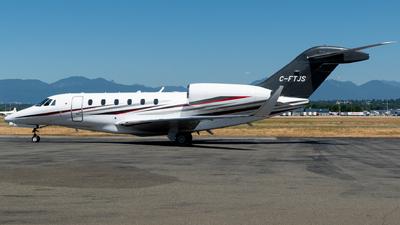 A picture of CFTJS - Cessna 750 Citation X -  - © Michal Mendyk