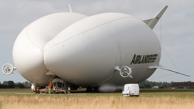 G-PHRG - Hybrid Air Vehicles Airlander 10 - Private