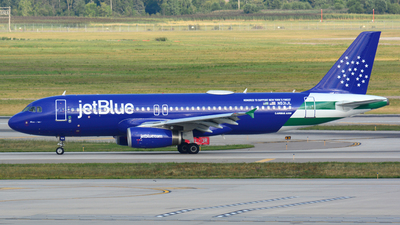 N531JL - Airbus A320-232 - jetBlue Airways