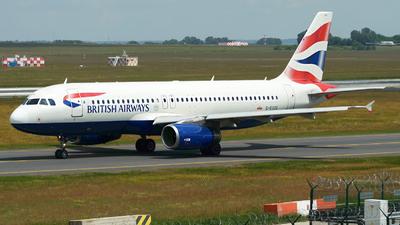 G-EUUO - Airbus A320-232 - British Airways