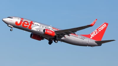 A picture of GJZHG - Boeing 73785P - Jet2 - © SlowhanD