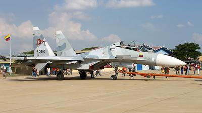 3363 - Sukhoi Su-30MK2 - Venezuela - Air Force