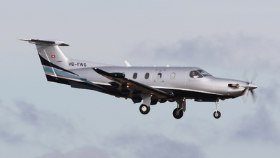 HB-FWG - Pilatus PC-12/47E - Private