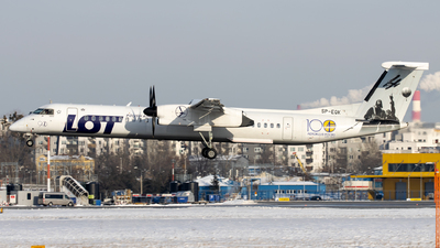 SP-EQK - Bombardier Dash 8-Q402 - LOT Polish Airlines