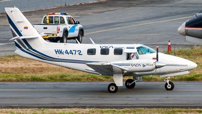 HK-4472 - Cessna T303 Crusader - TACA Taxi Aéreo Caribeño