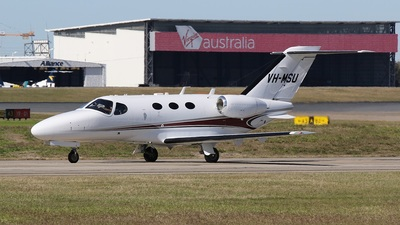 A picture of VHMSU - Cessna 510 Citation Mustang - [5100300] - © James Brisbane