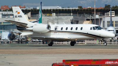 EC-KOL - Cessna 560XL Citation Excel - Gestair Private Jets